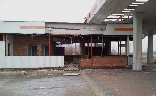 Stacja benzynowa trasa S8