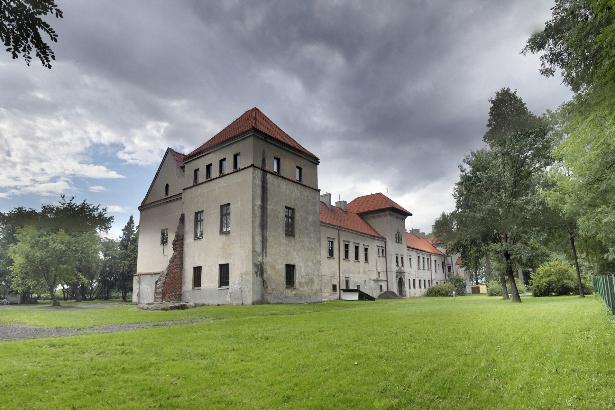 Zamek w Bykach koło Piotrkowa Trybunaskiego