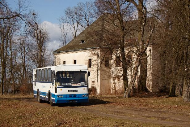 Skotniki opuszczony Pałac