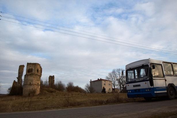 Ruiny w Majkowicach