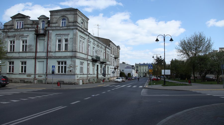 Remont chodnika przy ulicy Próchnika